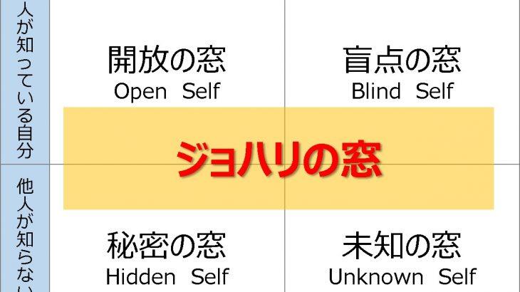 コミュニケーションを円滑にするために活用できる「ジョハリの窓」とは